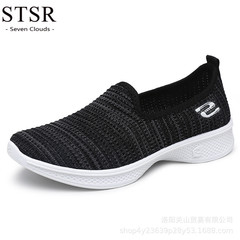 STSR Sports shoes ladies fashion casual shoes sports shoes women's shoes outdoor ladies shoes black 36