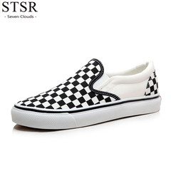STSR Women's fashion canvas shoes women's comfortable breathable sneakers a 35