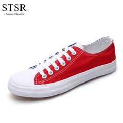 STSR Best selling casual shoes men's sports shoes comfortable fashion adult men's shoes white blue 39