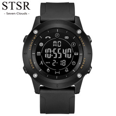 STSR Smart Watch Men's Chronograph Calorie Sports Watch Men's Bluetooth Digital Watch black one size