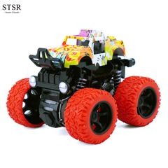 STSR Alloy Die-Casting Model Car Automatic Four-Wheel Drive Off-Road Vehicle Toy Gift Play Vehicles red one size