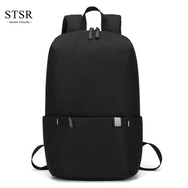 STSR 10L Backpack Waterproof Fitness Bag Sports Bag Women's Spacious Backpack Travel Camping Bag black one size