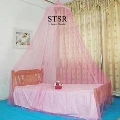 STSR Canopy bed curtain bed tent double bed canopy mosquito net mosquito repellent tent bedding sets pink one size