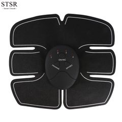 STSR Smart Abdominal Stick Lazy Fitness Equipment Home Exercise Abdominal Device Electronic Care single abdominal muscle battery