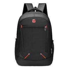 2021 New Men's Bag Large Capacity Men's Backpack Multifunctional School Bag Backpack Computer Bag Black 480mm*160mm*310mm