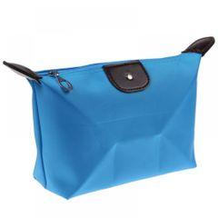 Girl Travel Woman Bag Cosmetic Bag Handbag Clutch Bag Purse Box Storage Bag Other Women's Bags Blue