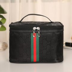 Portable Large-capacity Square Cosmetic Bag Cosmetics And Skin Care Storage Bags Women's Bags Black