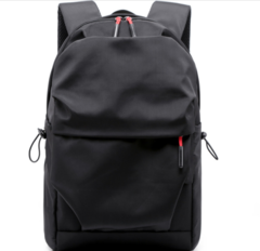 JM Oversized large capacity Backpack,Lightweight Business Waterproof Men,Nylon Sports Bags student Black one size