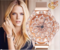Buy one get one free Women Watch Fashion Unique Design Hollow Flower Diamond with Rotating Diamond rose gold one size