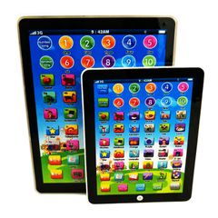 Tablet learning machine for children blue One size