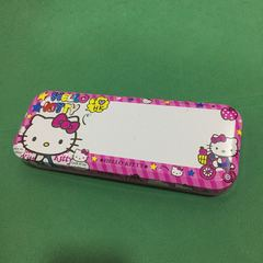 Hello Kitty pencil case gift for girls pink one size