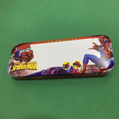 Spiderman pencil case gift for boys red one size