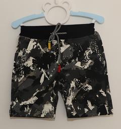 denim shorts Black Grey 110