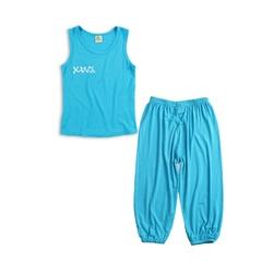 Children's vest suit blue 90