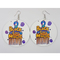 Fashionable Beautiful Hot Women Earrings in Different Colors Ladies' Jewelry 2 1 size