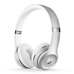 Beats Solo3 Wireless On-Ear Headphones Wireless Earphone Headset Satin Silver