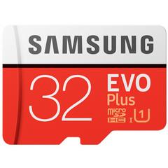 Samsung EVO Plus U3 Memory Card 32GB Class10 TF Card Micro SD + Adapter red TF Card 32GB 98M/S