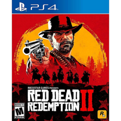 ROCKSTAR Ps4 Red Dead Redemption 2 Games as shown one size