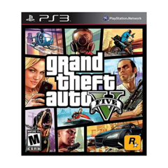 ROCKSTAR PS3 Game Grand Theft Auto 5 as shown one size