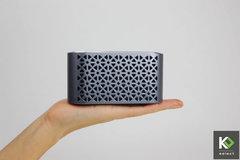 Mambo Aluminium Bluetooth Speaker with Amazing Hi-Fi Sound grey one-size