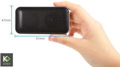 Super Tiny Hi-Fi Bluetooth Speaker with Amazing Sound black one-size