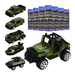 Car Set Model Toys for Fire Engineer of Children's Engineering Vehicle green 1