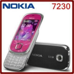 Nokia 7230 - Slide Phone 2.4″ Bluetooth FM JAVA 3.15MP (Unlocked) Cellular Phone black