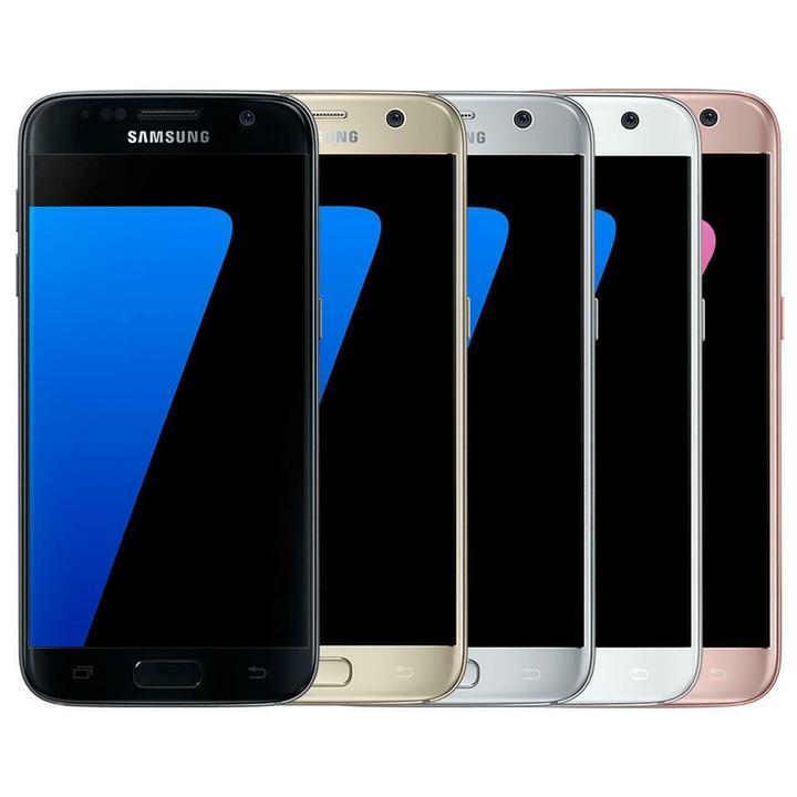 Samsung Galaxy S7 G930F 32GB 64GB Unlocked SIM Free Smartphone - Various Colours gold 4+ 64g dual sim