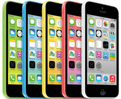 Apple iPhone 5C 16GB UNLOCKED SIM Free Smartphone in All Colours white