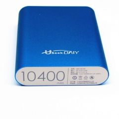 Useek Only 10400mAh Power Bank Power Mate Mobile Power Portable Charger Battery Blue 10400mAh