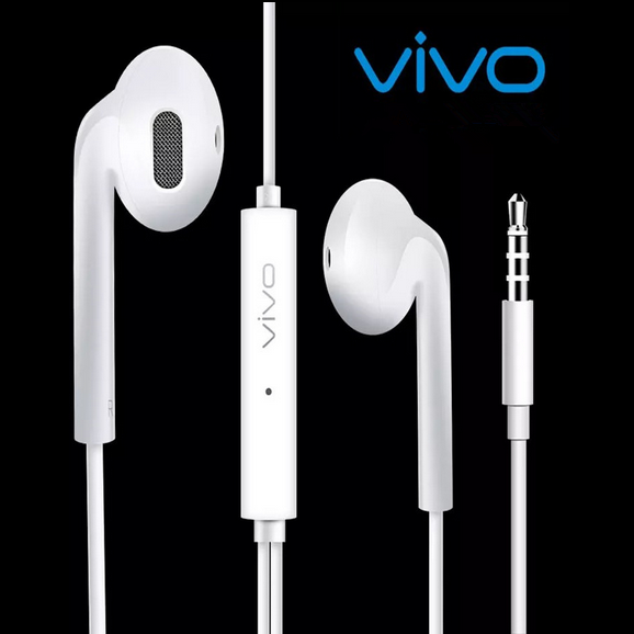 Smart Watch Earpods Earphones Earbuds  with Mic and Volume Control for Vivo, Iphone