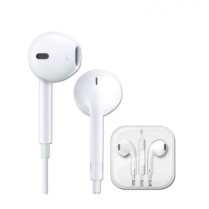 Genuine Earphone for iPhone With Mic And Control  for iphone 5 5S 5C 6 6Plus 6s 6S Plus white
