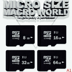 Memory Card 32GB/16GB Micro SD 8GB Flash Card Memory Microsd for Smartphone black micro sd 16g