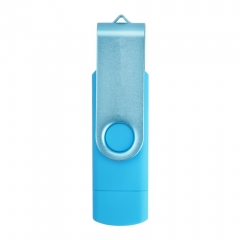 OTG USB 2.0 Flash Pen Drive Android Phone USB 16G Storage Micro USB Memory Stick Flash Drive blue micro sd 16g