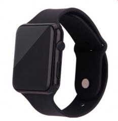 Fashion LED Watch Sports Digital Watch for Men Women black one size
