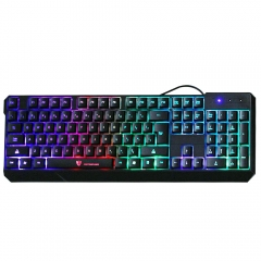 MotoSpeed K70 USB Wired Gaming Keyboard 7 Color Backlit for Computer PC Tablet colorful one size