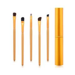5PCS/Golden makeup brush set/Eyebrow brush/Sponge brush/Powder brush/Eyeshadow brush Golden
