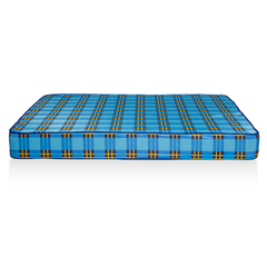 Superfoam High Density mattress- Multicolored. All sizes available. multi colored 5 ft x 6 ft x 6 inch thickness