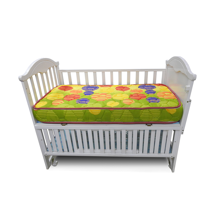Superfoam medium Density baby cot mattress- Multicolored. All sizes available. multi colored 4 ft x 2 ft x 4 inches thickness