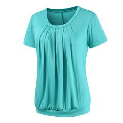Lactation T-Shirt Maternity Nursing Cotton Maternity  Tops Pregnancy Breastfeeding Clothes blue s