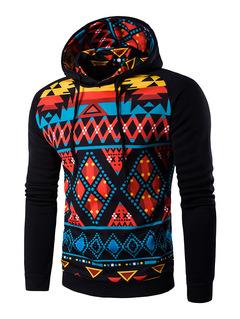 Hoodie Hooded Sweatshirt Coat Jacket Winter Warm Outwear black m
