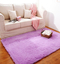 Carpet For Living Room  Home Warm Plush Floor Rugs fluffy Mats Kids Room Faux Fur  Area Rug purple 40*60CM