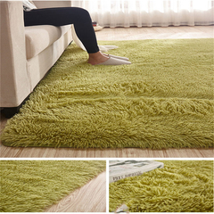 Carpet For Living Room  Home Warm Plush Floor Rugs fluffy Mats Kids Room Faux Fur  Area Rug green 40*60CM