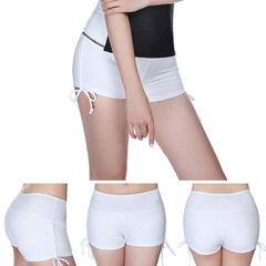 Women's Athletic Running Yoga Workout Lounge Shorts white s