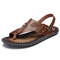 Men slippers sandals summer casual walking fashion quality rubber soles man shoes 01 43