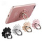 Phone Ring Stand Universal Phone Finger Ring Grip Stand Holder Compatible with iPhone, Huawei Silver one size