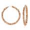 1 Pair of  Earrings Hot Sell Rhinestone round Exaggerated Big Circle Hoop Earrings(6.5*6.5) gold 6.5cm*6.5cm