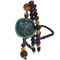 1 set men handmade long necklace stone pendant ethnic style clothing accessories pendant new jewelry blue one size