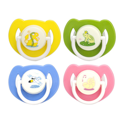 Creative silicone baby nipples baby soothing bite four colors one size baby healthy Above 6 Month yellow 2*3*5.5cm