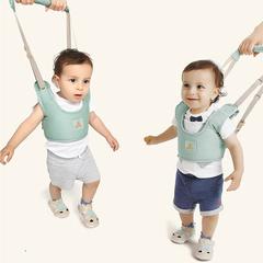 Basket-style toddler belt Baby walking shatter-resistant belt Anti-lost child Comfortable belt blue one size,adjustable